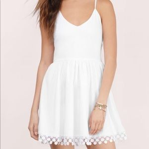 Tobi Daylight Skater Dress in White